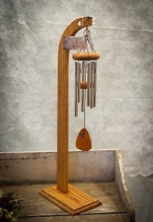 Small Wind Chime And Stand