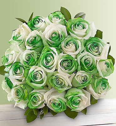 St. Patrick\'s Day Roses 24