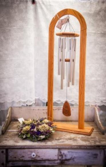 Large Cathedral Sympathy Wind Chime & Stand