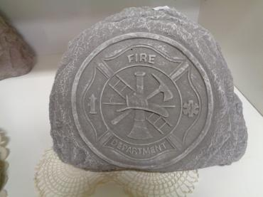 Service Commemoration Stone - FIREFIGHTER