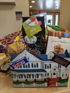 New Home Gift Basket Box