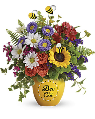 Teleflora\'s Garden Of Wellness Bouquet