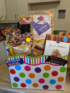 Celebrate Gift Basket Box