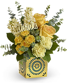 Teleflora\'s Shimmer Of Thanks Bouquet